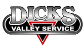 dicks towing logo